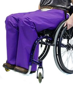 Warm lined Waterproof Wheelchair Trousers