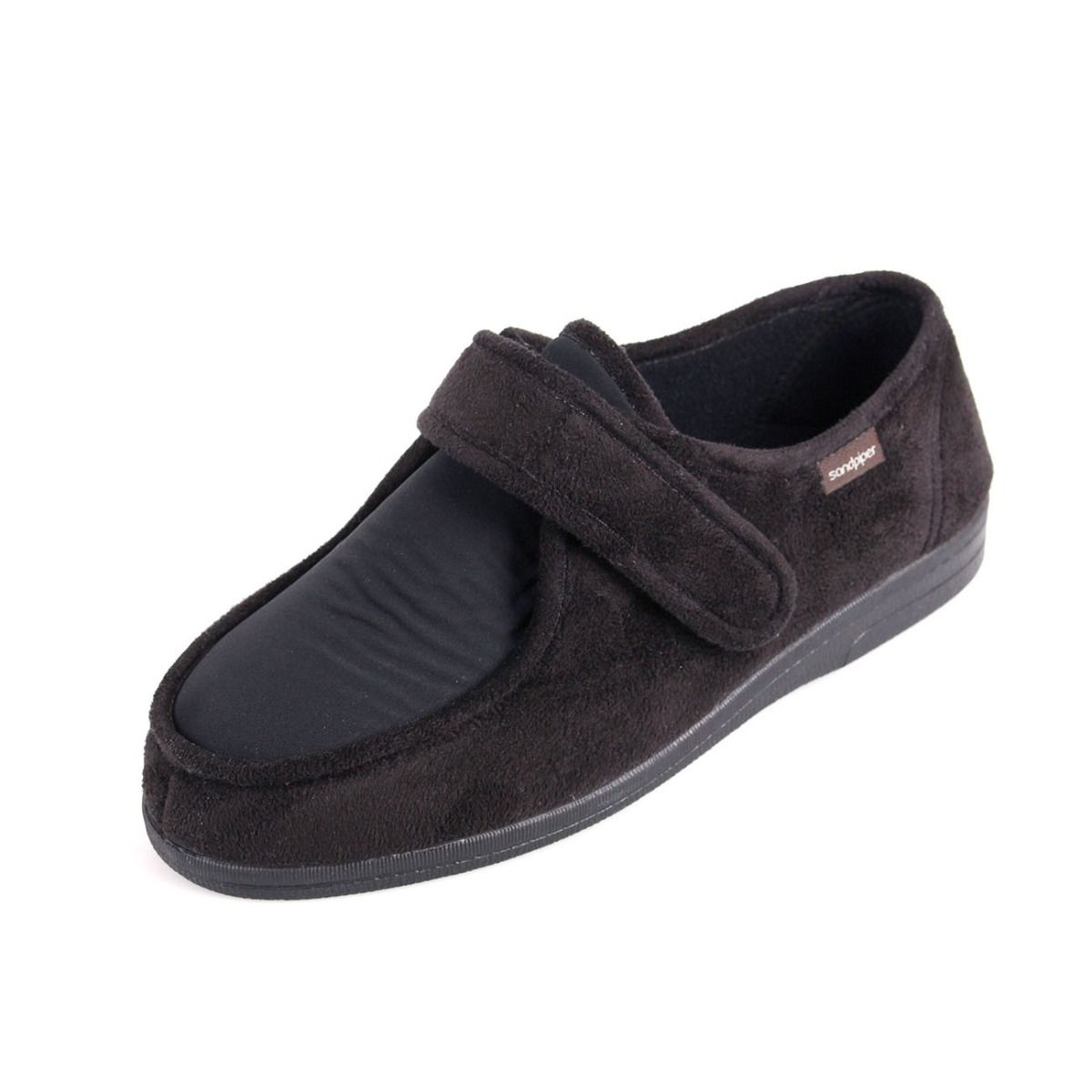 Men's Extra Wide Stretchy Slippers