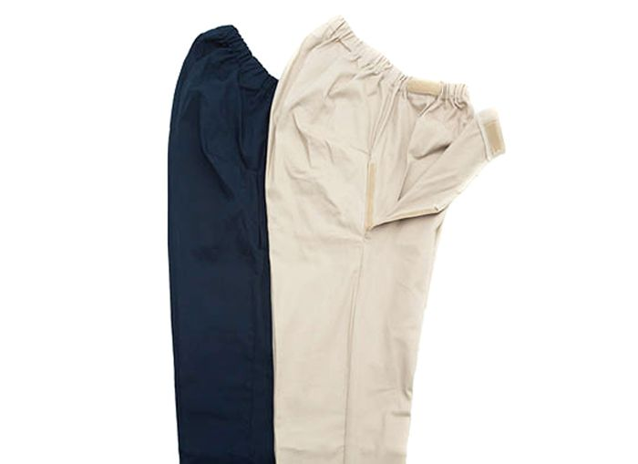 Drop Front Wheelchair Chinos - Selected Sizes