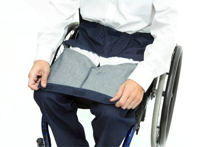 Dropfront Wheelchair Jeans