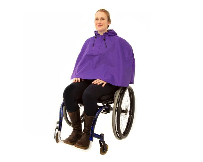 Wheelchair Waterproof Cape