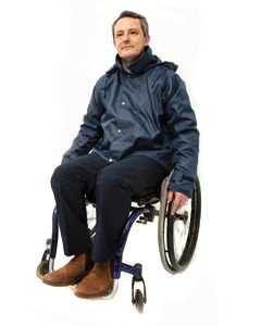 Warm lined Waterproof Wheelchair Jacket