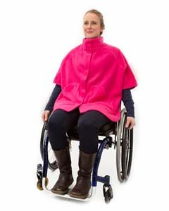 Women's Fleece Wheelchair Cape
