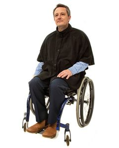 Fleece Wheelchair Cape