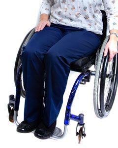 Women's Elasticated Waist Wheelchair Chinos