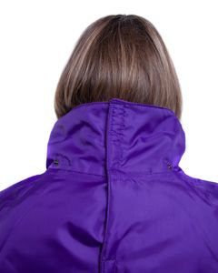 Back fastening wheelchair jacket