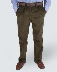 Men's elasticated waist cords