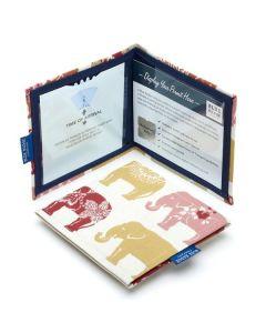 Disabled Blue Badge Holder Wallet - Elephant Print