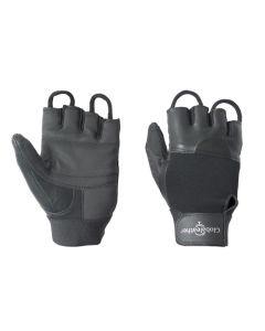 Fingerless pushing gloves