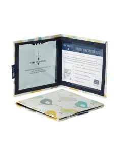 Disabled Blue Badge Wallet - Birds