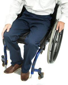 Elasticated Waist Wheelchair Easycare Chinos