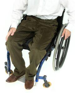Men's Elasticated Waist Wheelchair Cords