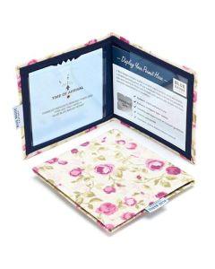 Disabled Blue Badge Holder Wallet - Mulberry Rose Print