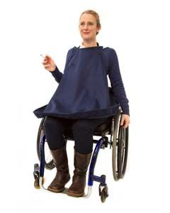 Smokers Apron for Wheelchair Users