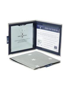 Disabled Blue Badge Holder Wallet - Star Print