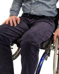 Zip front wheelchair cords