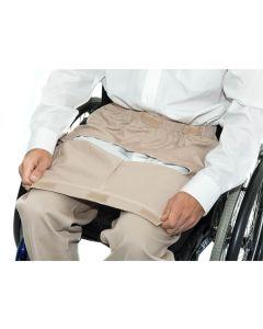 Dropfront Wheelchair Chinos S/34 Stone