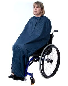 Warm lined wheelchair waterproof cocoon