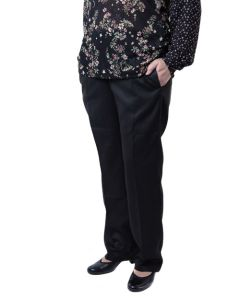 Womens elasticated waist smart trousers