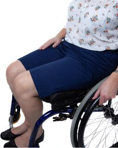 Women's Elasticated Waist Wheelchair Shorts