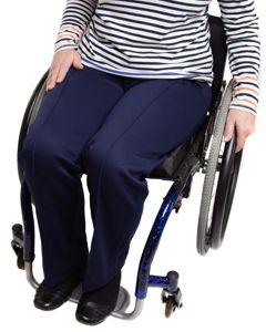 Elasticated Waist Wheelchair Jersey Trousers
