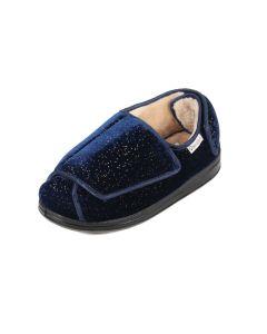 Ladies Extra Wide Open Flat Slipper