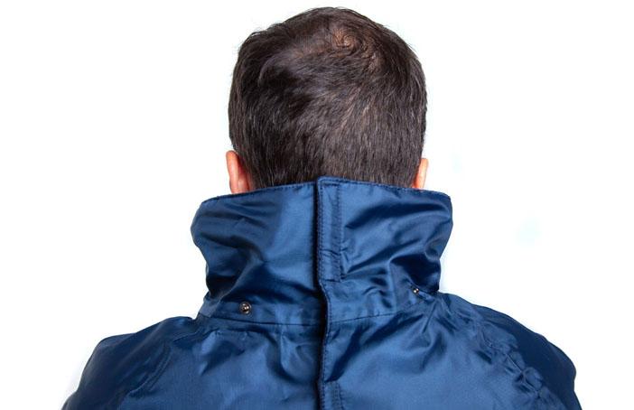 Men's Back Fastening Jacket