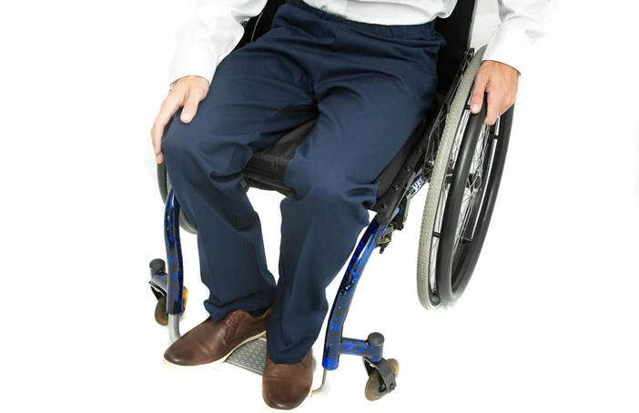 Men's Elasticated Waist Wheelchair Chinos