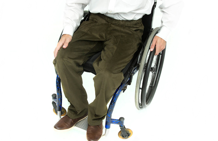 Men's Elasticated Waist Wheelchair Cords