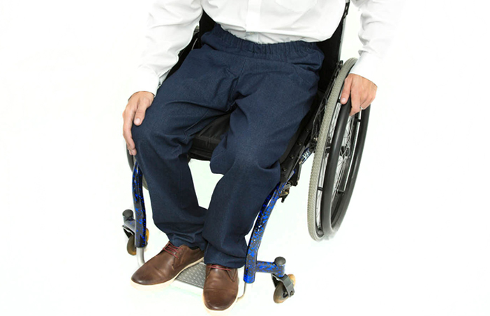 Men's Elasticated Waist Wheelchair Jeans