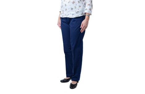Womens elasticated waist chinos