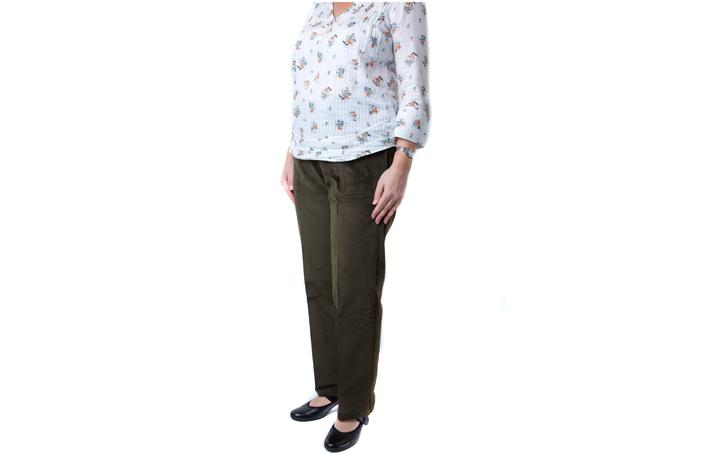Womens elasticated waist cords