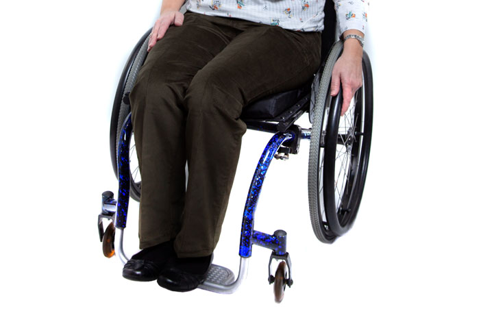Women's Elasticated Waist Wheelchair Cords