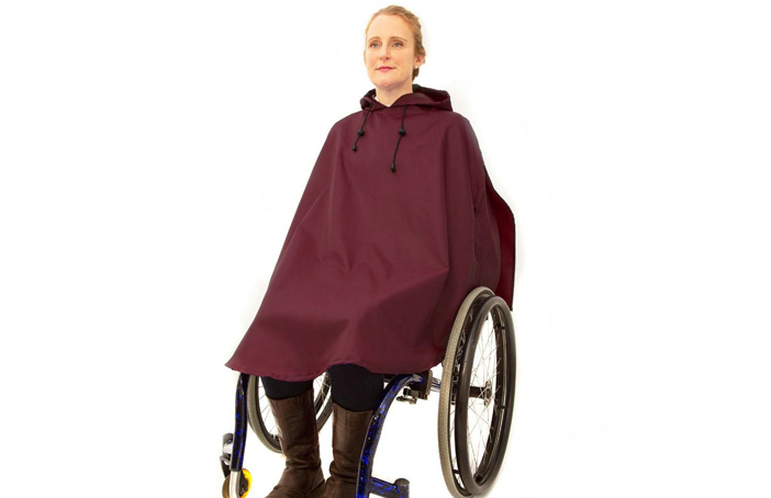 Women's Waterproof Wheelchair Poncho