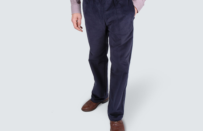 Men's Elasticated Waist Trousers