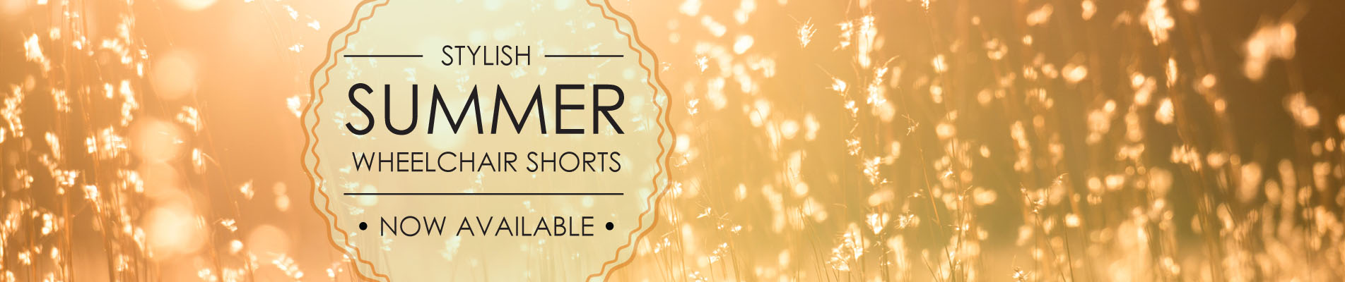 Stylish Summer Wheelchair Shorts